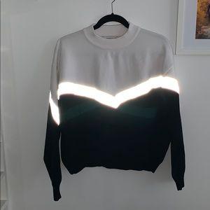 Zara reflective sweatshirt
